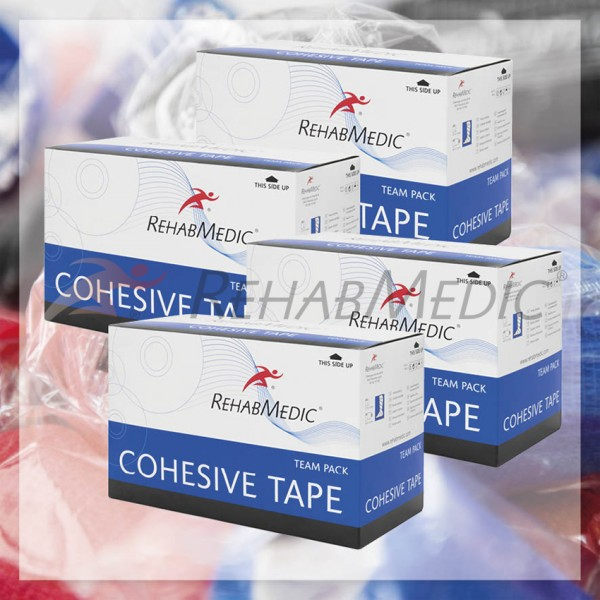 Cohesive tape 5cmx4,6m Team Pack (30ks)