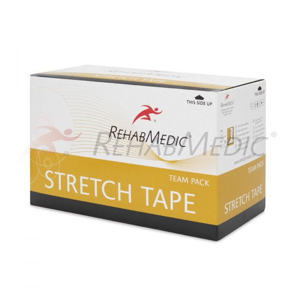 Stretch tape 5 cm x 4,6 m (24 ks) TEAM PACK